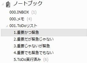 ToDoノートブック