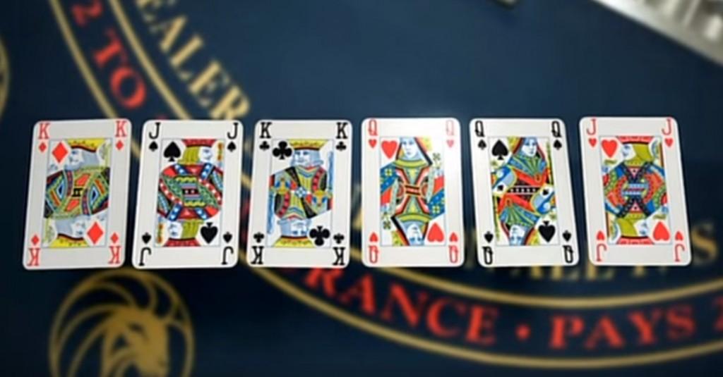 6枚のカード