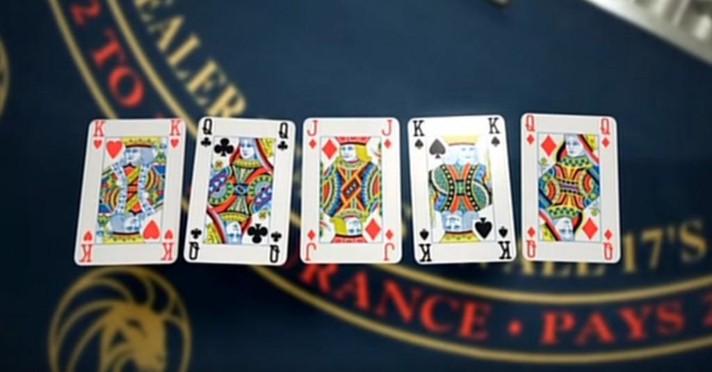 5枚のカード