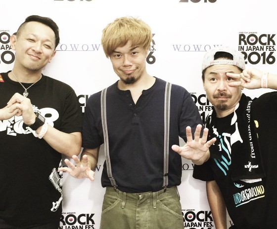 ロックインジャパン2016に出演した10-FEETに関するツイートまとめ